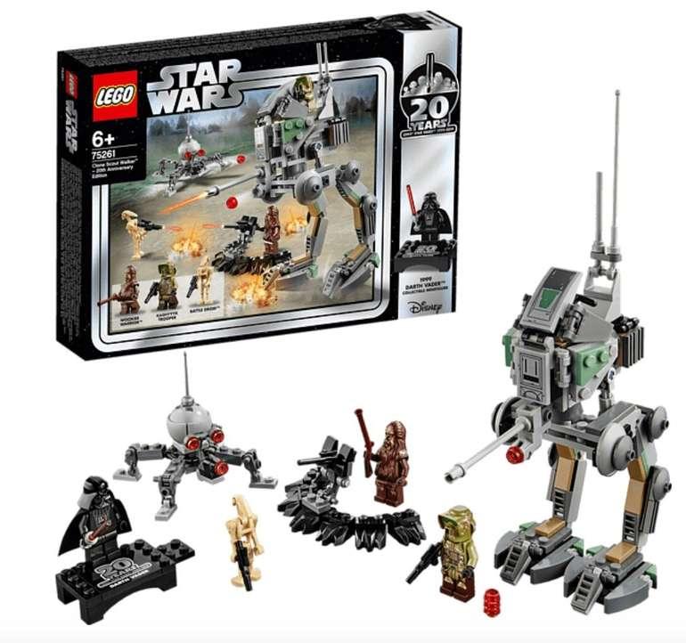 Lego Star Wars - Clone Scout Walker 20 Jahre Edition (75261) für 31,98€ inkl. Versand (statt 55€)
