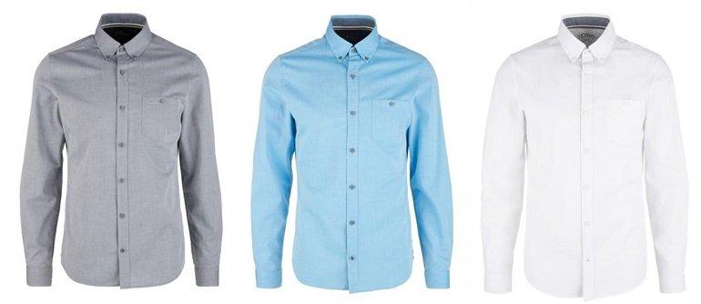 3er Pack s.Oliver Herren Hemden