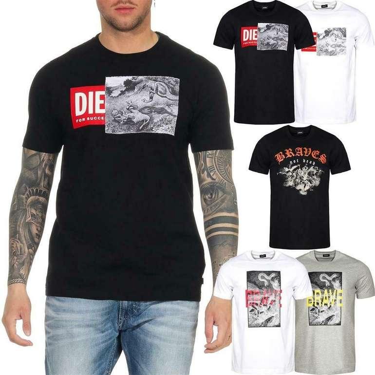 Diesel T-Just Herren T-Shirt (5 Varianten) für 24,99€ inkl. Versand (statt 30€)