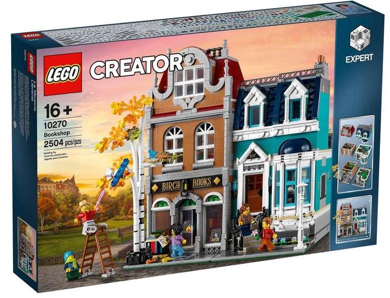 "Lego Creator Expert ""10270"" Buchhandlung für 155,96€ (statt 174€)"