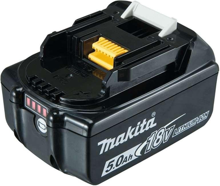 Schnell? Makita BL1850B Lithium-Ionen-Akku 5,0Ah für 20,64€ inkl. VSK (statt 57€) - ab 4 Akkus VSKfrei