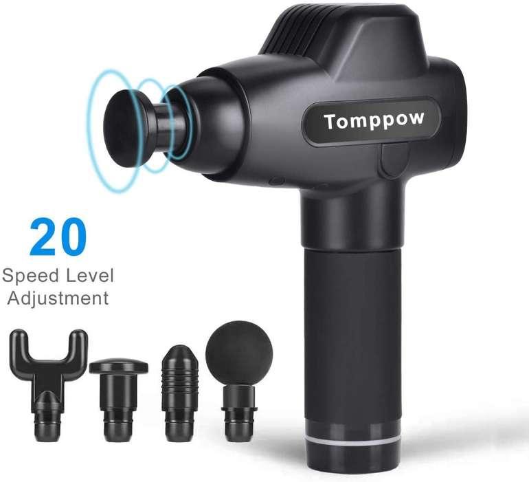Tomppow Massagepistole mit Touchscreen für 76,99€ inkl. VSK (statt 127€)