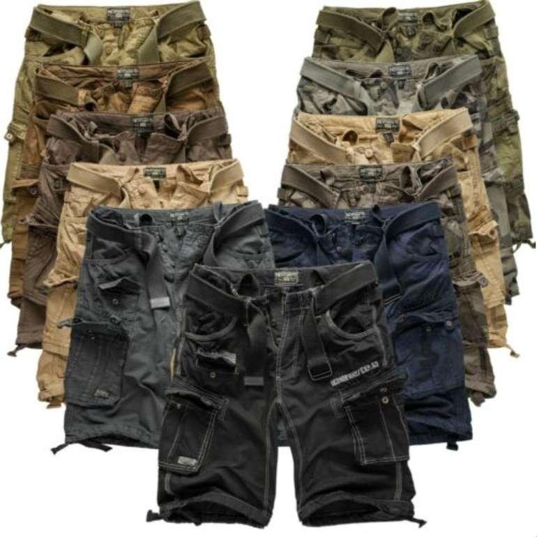 Geographical Norway Herren Cargo Shorts für je 24,90€ inkl. Versand (statt 39€)