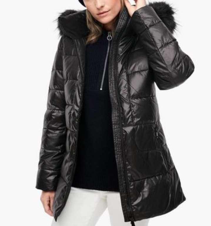 s.Oliver Damen Puffer Jacke mit Kunstpelz für 74,99€ inkl. Versand (statt 126€)