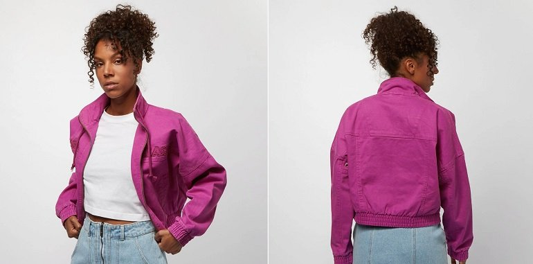 Karl Kani Retro Trainingsjacke in Pink 2