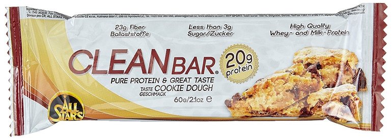 18er-Pack All Stars Clean Bar Cookie Dough (18x 60g) für 15,26€ mit Prime!