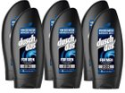 6er Pack Duschdas For Men 2 in 1 Duschgel & Shampoo für 3,15€ als Plus Produkt