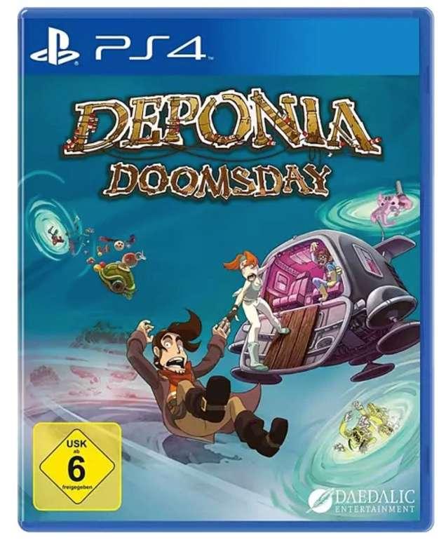 Saturn: Deponia Doomsday (PS4) für 8,59€ bei Abholung (statt 16€)
