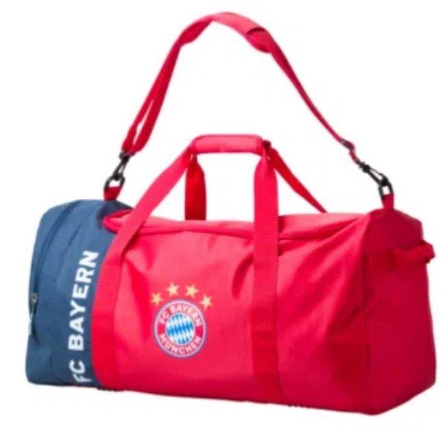 FC Bayern München Sporttasche (65 Liter Volumen) für 18,46€ inkl. Versand (statt 30€)