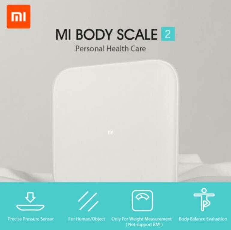 Xiaomi Mi Smart Scale 2 Bluetooth Waage für 13,99€ inkl. Versand (statt 19€)