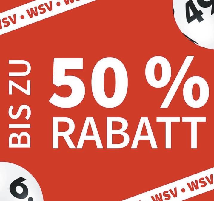 Lottohelden WSV: Bis zu 50% Rabatt auf versch. Lotterien (Neu- & Bestandskunden)