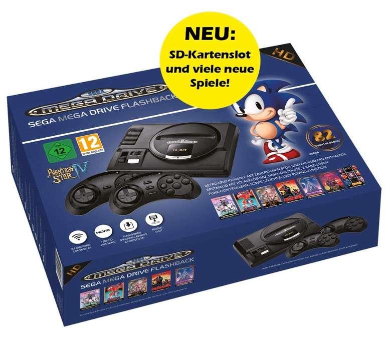 Sega Megadrive Flashback HD - Edition 2019 für 48,17€ inkl. Versand (statt 75€)