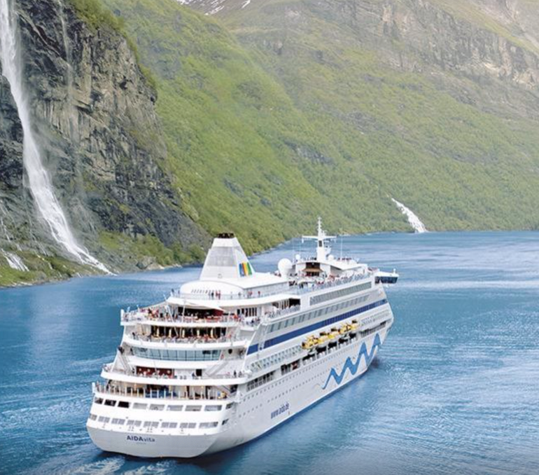 AIDA First Minute Angebote - z.B. 10 Tage Norwegens Fjorde ab 649€ pro Person