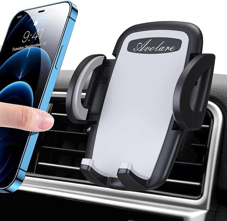 Avolare Auto Handyhalterung (Lüftungsschlitze) für 5,39€ inkl. Prime Versand (statt 9€)