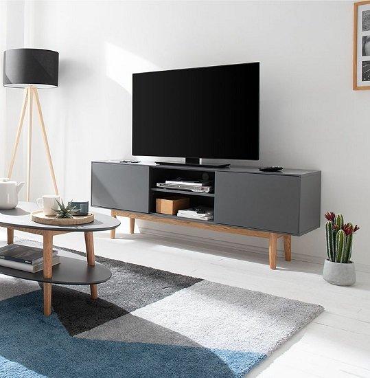 home24 mit 20% Rabatt auf ausgewählte Artikel ab 150€ + VSKfrei!, z.B. TV-Lowboard Lindholm für 239,99€