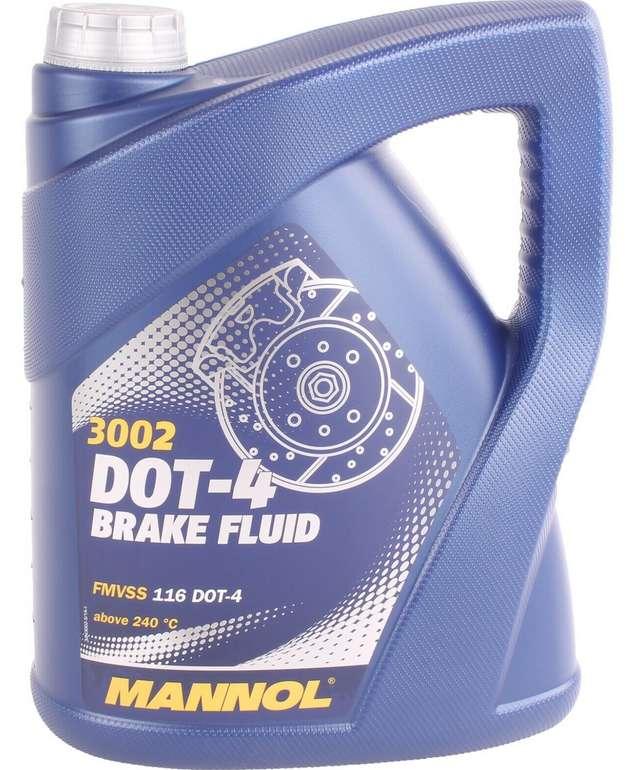 Mannol Bremsflüssigkeit DOT4 (5.1 kg) für 16,49€ inkl. Versand (statt 19€)