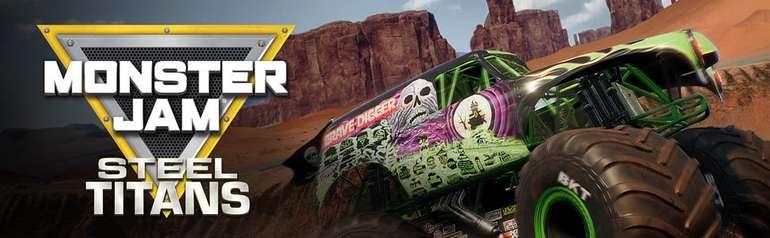 Monster Jam Steel Titans Banner