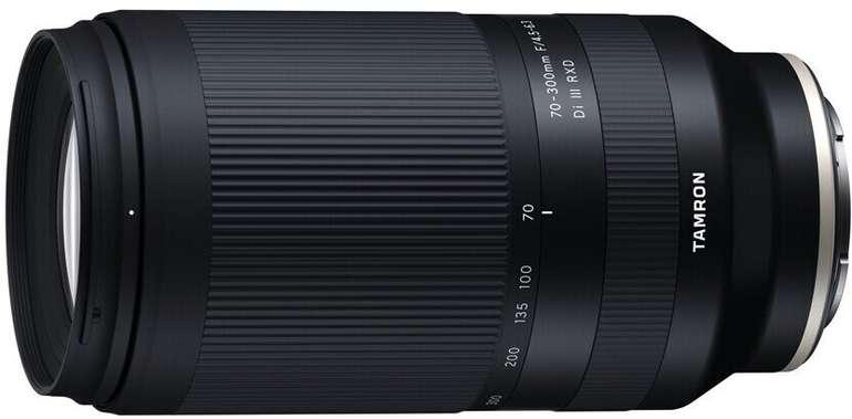Tamron 70-300mm F4.5-6.3 Di III RXD Objektiv für Sony E-Mount für 450,73€ (statt 549€)