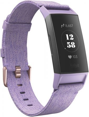 Fitbit Charge 3 Activity Tracker - Special Edition Lavendel/Roségold für 111€