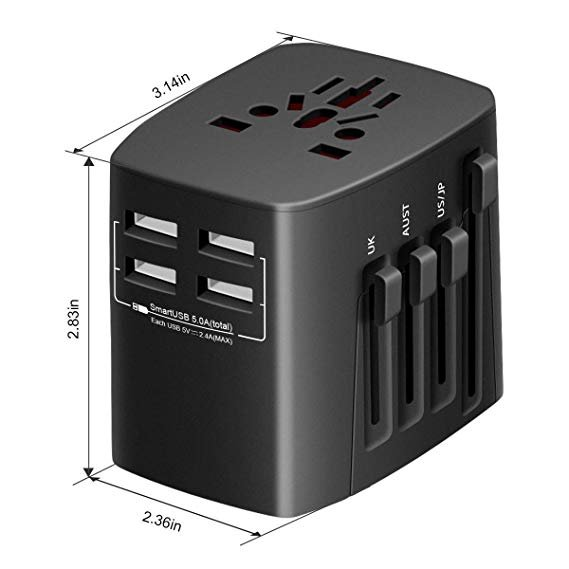 Universell Govee Reise-Adapter (Ladegerät) für 9,99€ inkl. Prime-Versand