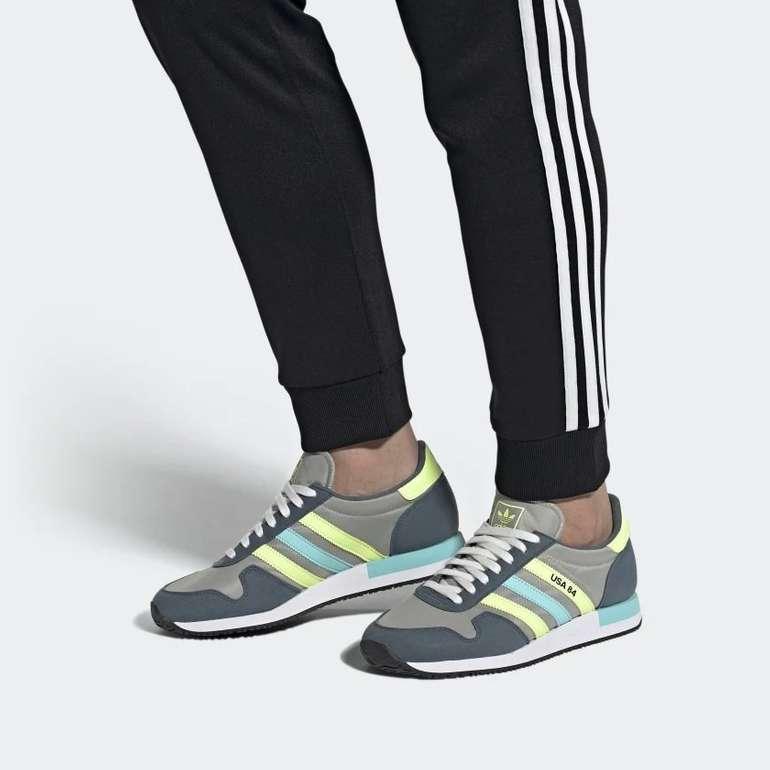 Adidas USA 84 Sneaker in verschiedenen Farben für 54,54€ inkl. Versand (statt 78€)