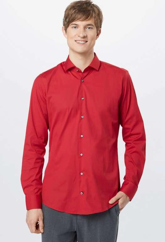 JOOP! Herren Hemd in rot für 23,85€inkl. Versand (statt 60€)