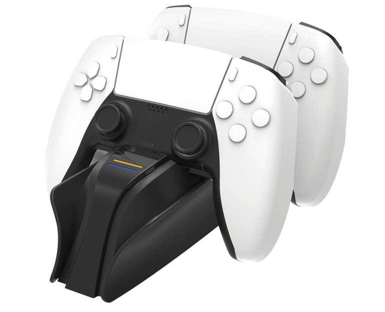 Playstation 5 Twin:Charge 5 Snakebyte Ladestation für 13,14€ inkl. Versand (statt 21€)