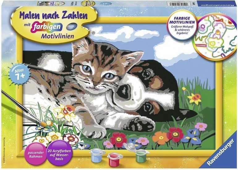 Ravensburger Malen nach Zahlen - Tierfreundschaft (28910) für 6,67€ (Prime)