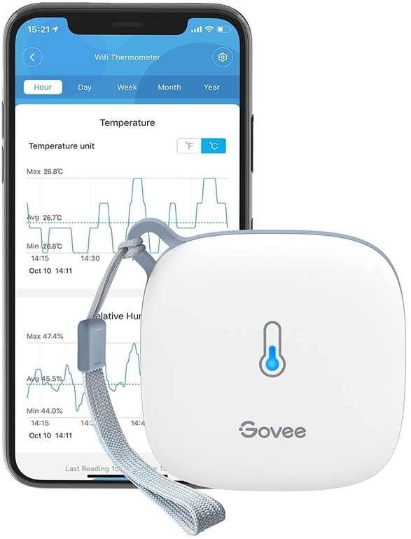 Govee WLAN Thermo- bzw. Hygrometer mit App für 20,79€ inkl. Versand (statt 26€)