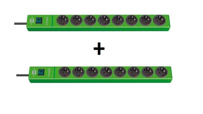2er-Pack Brennenstuhl hugo! 8-fach Steckdosenleisten für 17,99€ inkl. Versand