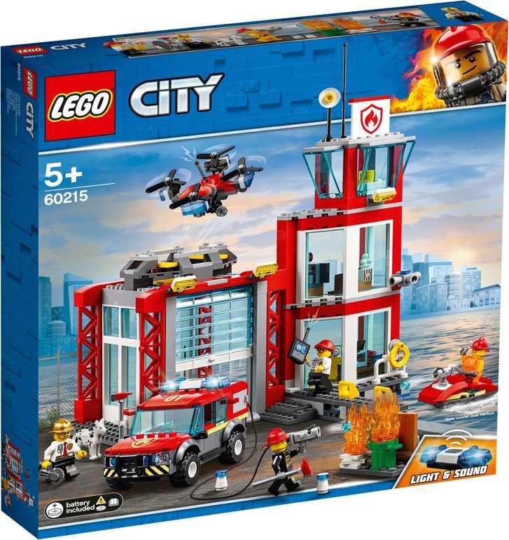 Lego City 60215 - Feuerwehr Station für nur 36,08€ (statt 42€)