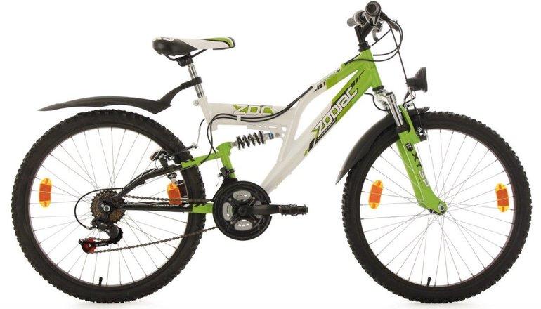 "KS Cycling 633K - 24"" Zodiac Kinder Mountainbike mit 18 Gängen für 162,37€"