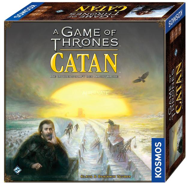 Brettspiel: A Game of Thrones CATAN: Die Bruderschaft der Nachtwache für 62,39€