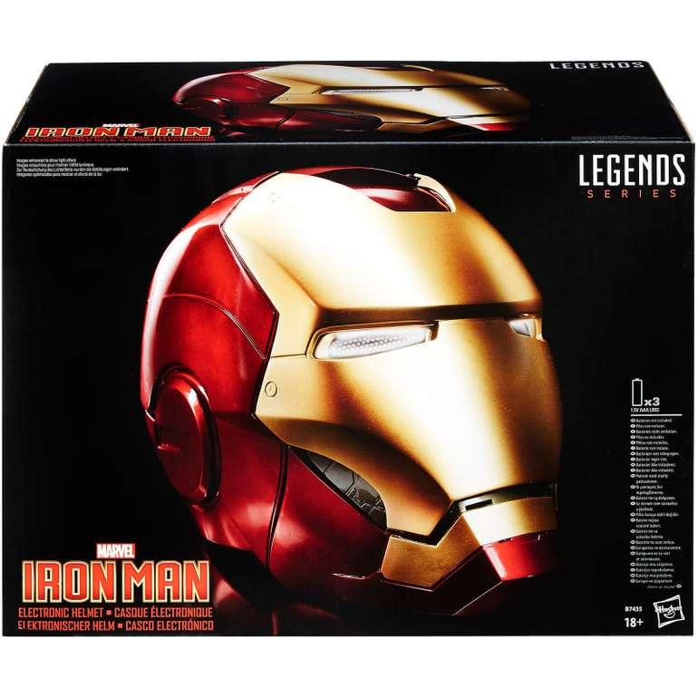 Hasbro Marvel Legends Avengers Iron Man Elektrohelm (mit Soundeffekten, LED-Augen und magnetischem Visier) für 94,99€
