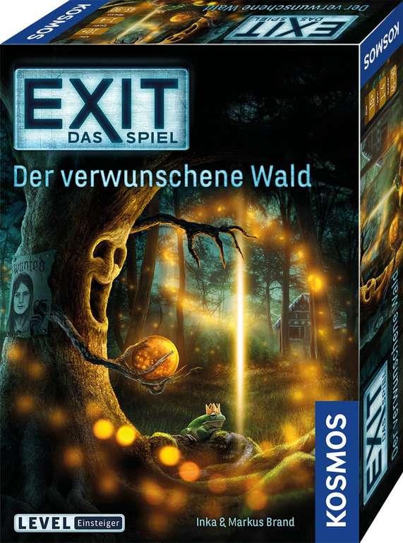 EXIT - Das Spiel: Der verwunschene Wald (69514) für 10,19€ inkl. Versand (statt 13€) - Thalia Club