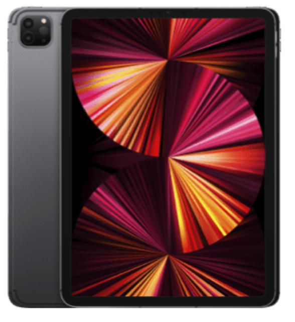 """Apple iPad Pro 11"""" 5G (3. Gen) mit 128GB Speicher (29,99€) + o2 my Data M Paket mit 60GB LTE für 49,99€mtl."""