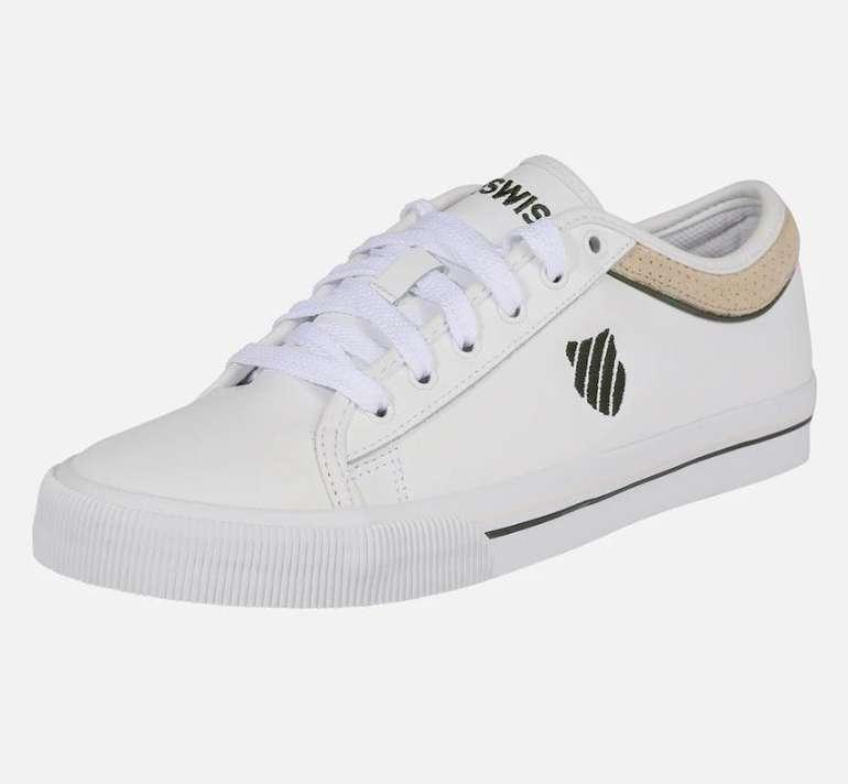 K-Swiss Unisex Sneaker 'Bridgeport II Ltr' in weiß für 23,81€ inkl. Versand (statt 40€)
