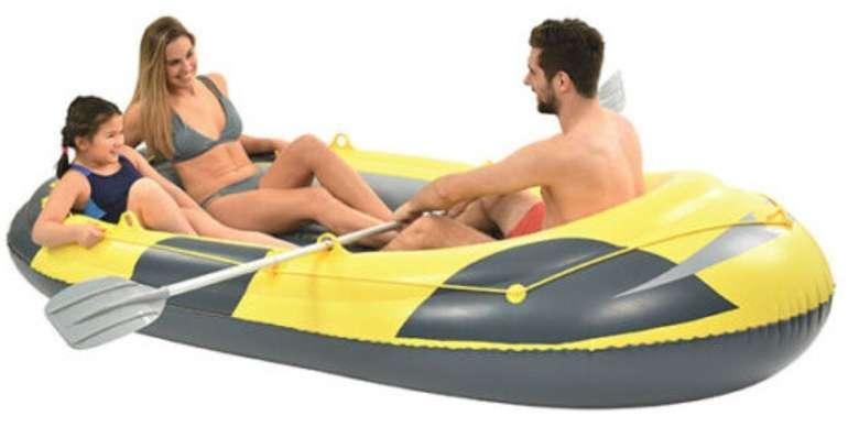Schlauchboot + 2 Paddel und Tasche (für 3 Personen, bis max. 260 kg) nur 35,99€ inkl. Versand (statt 44€)