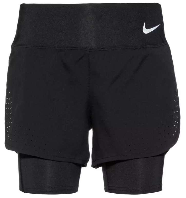 Sportscheck: 20% Rabatt auf reduzierte Textilien - z.B. Nike Eclipse Damen Funktionsshorts für 31,11€
