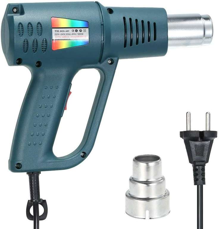 KKmoon Heißluftpistole mit 1500 Watt für 16,59€ inkl. VSK