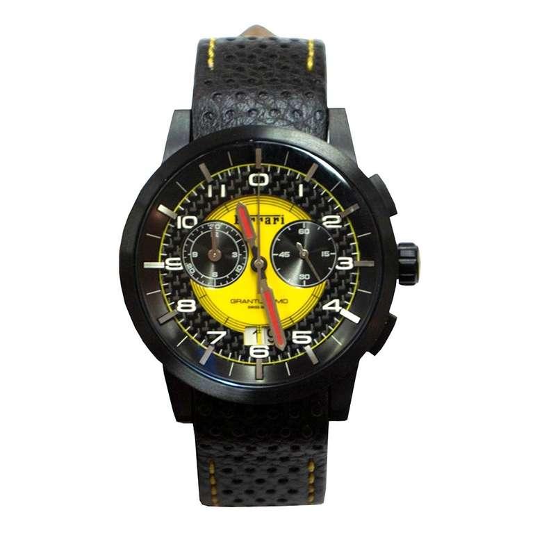 Scuderia Ferrari Granturismo Armbanduhr (270033669) in schwarz/gelb für 162,48€ inkl. Versand (statt 199€)