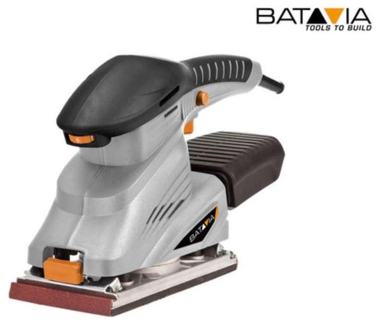 Batavia Maxxseries Schwingschleifer (250 Watt, Stufenlose Drehzahlregulierung, Klemmbefestigung) für 20,90€