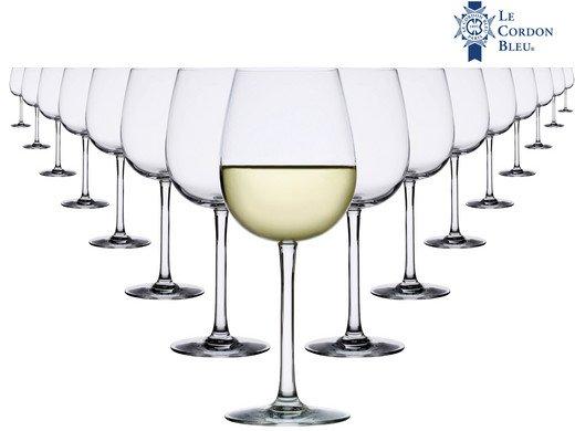16x Le Cordon Bleu Weißweingläser (je 45 cl) für 26,90€ (statt 41€)