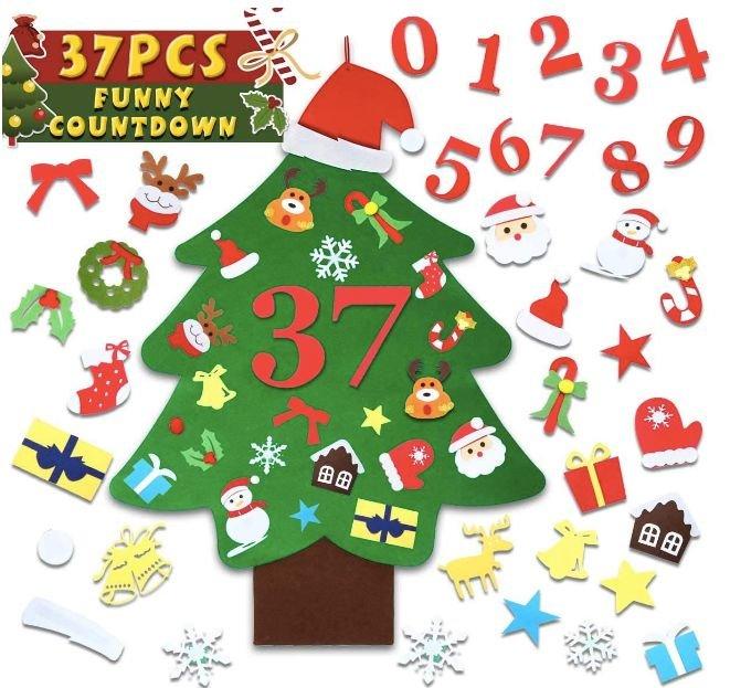 Safetyon Filz Weihnachtsbaum (37 Teile) für 8,39€ inkl. Prime Versand (statt 14€)