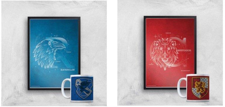 Harry Potter Bundle 325ml Tasse + Kunstdruck 2
