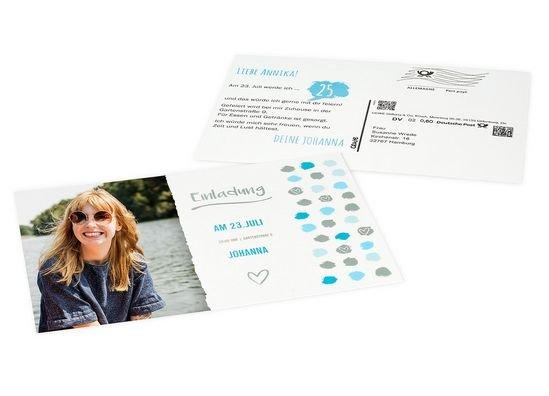 Kostenlose Postkarte zum Muttertag - mit eigenem Bild und Grußtext - zum Verschicken (statt 2,29€)