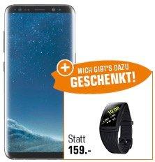Samsung Galaxy S8 für 499€ inkl. Versand + gratis Samsung Gear Fit 2 Pro!