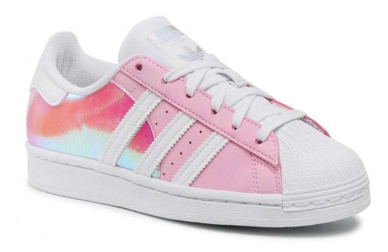 """Adidas Superstar J Damen Sneaker im """"Supcol/Supcol/Ftwwht""""-Colourway für 49€ (statt 70€)"""