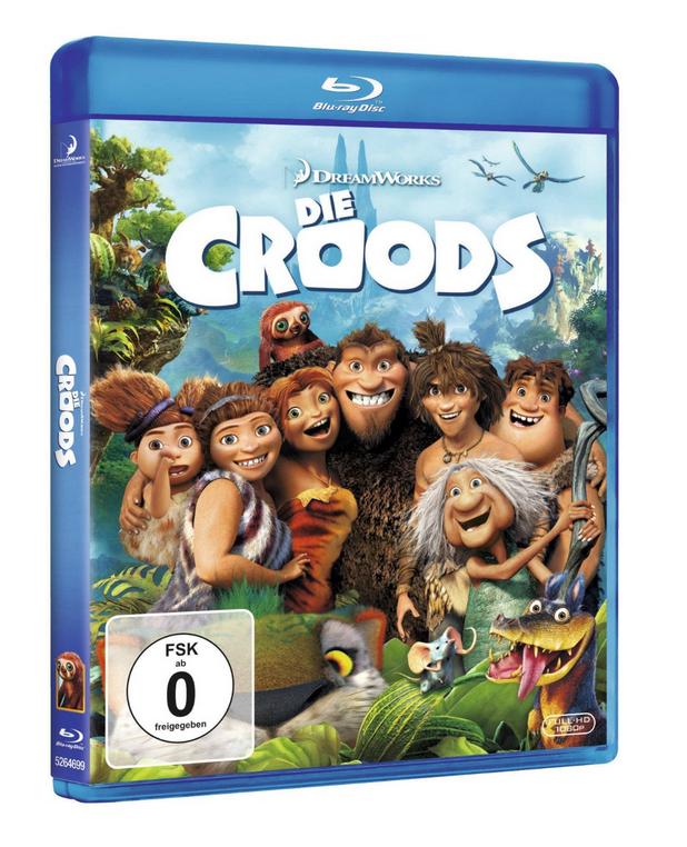 Die Croods auf Blu-ray für 4€ inklusive Versand (statt 8€)