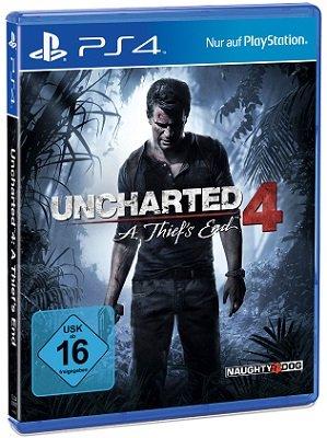Uncharted 4 - A Thief's End (PS4) für 9,99€ (Vergleich: 17€)